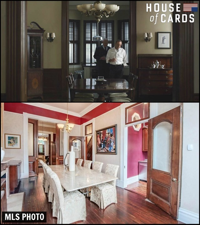House of Cards House Living Room
