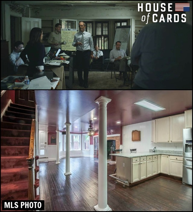 House of Cards Townhouse Basement