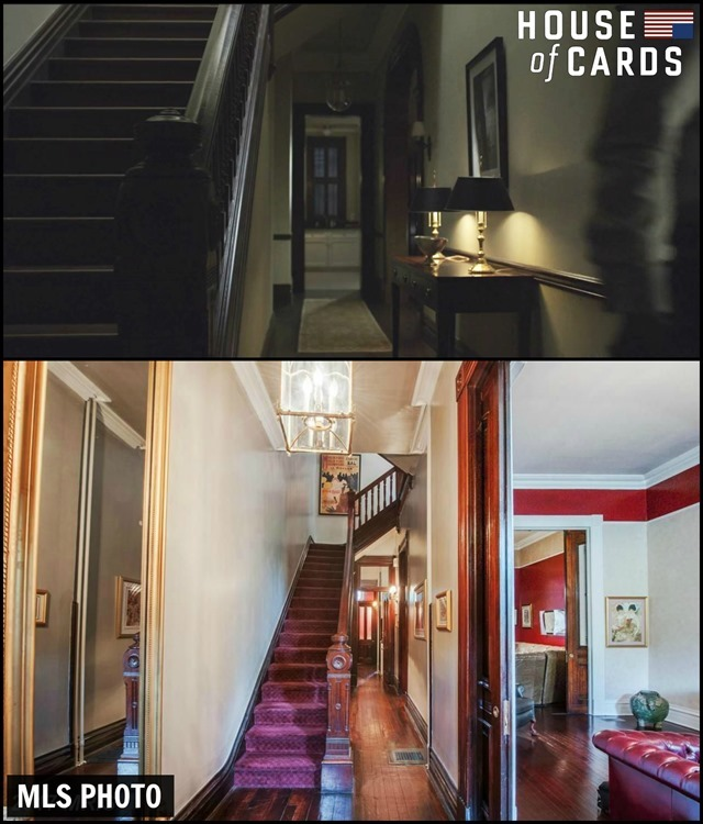 House of Cards Townhouse Hallway 3