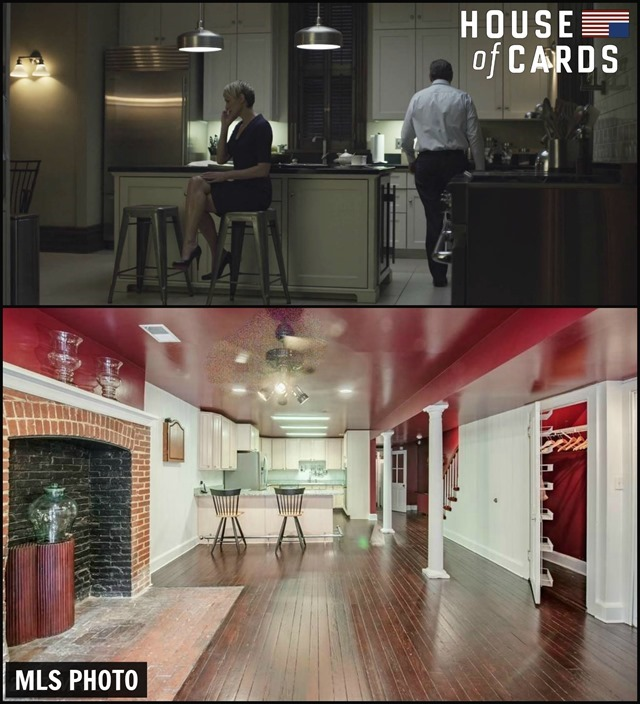 House of Cards Townhouse Kitchen 2