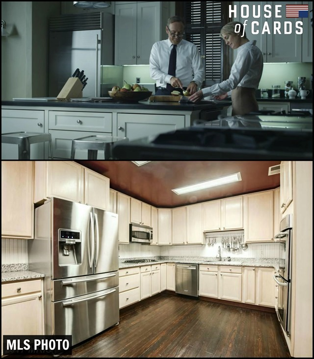 House of Cards Townhouse Kitchen