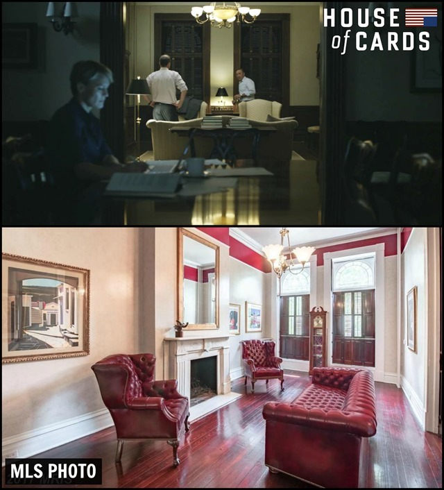 House of Cards Townhouse Living Room 2