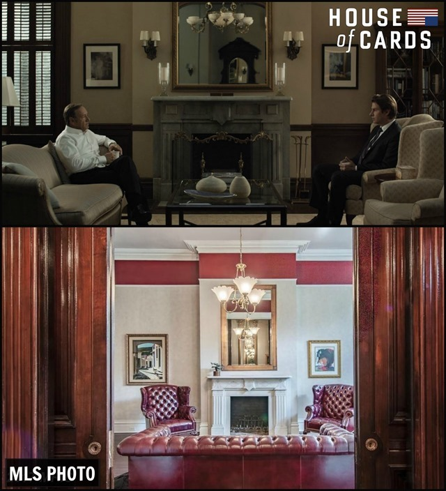 House of Cards Townhouse Living Room