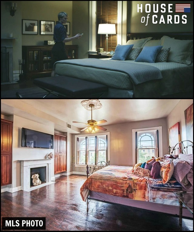 House of Cards Townhouse Master Bedroom 2