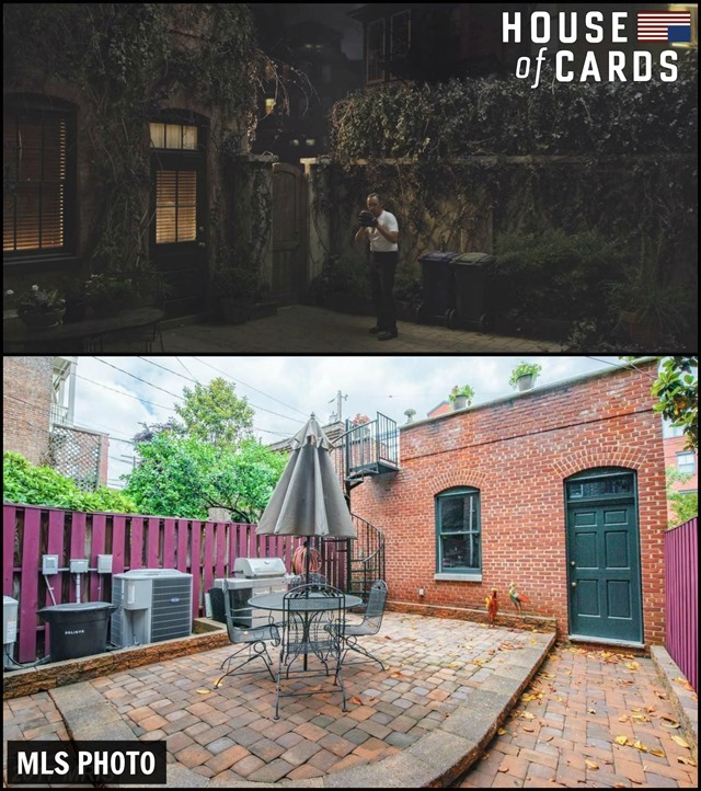 House of Cards Townhouse Patio