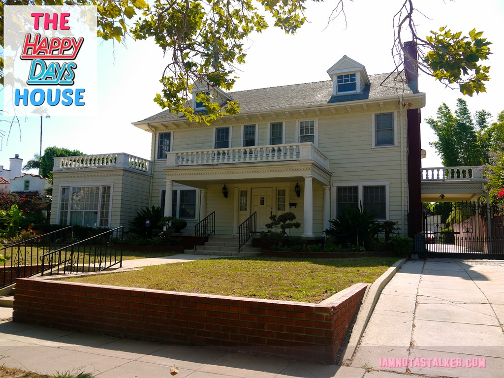 The Cunningham House From  U0026quot Happy Days U0026quot