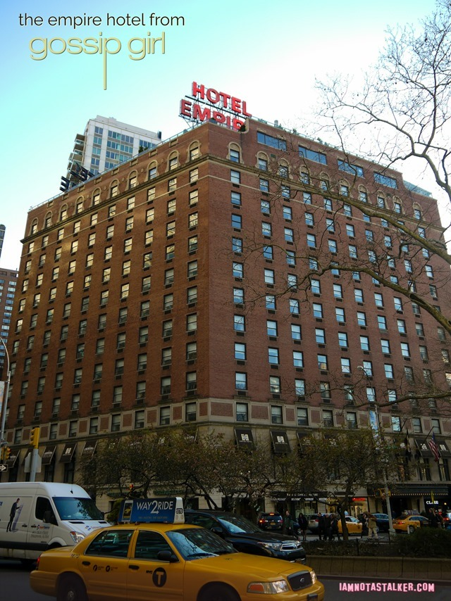 The Empire Hotel from Gossip Girl-1140874