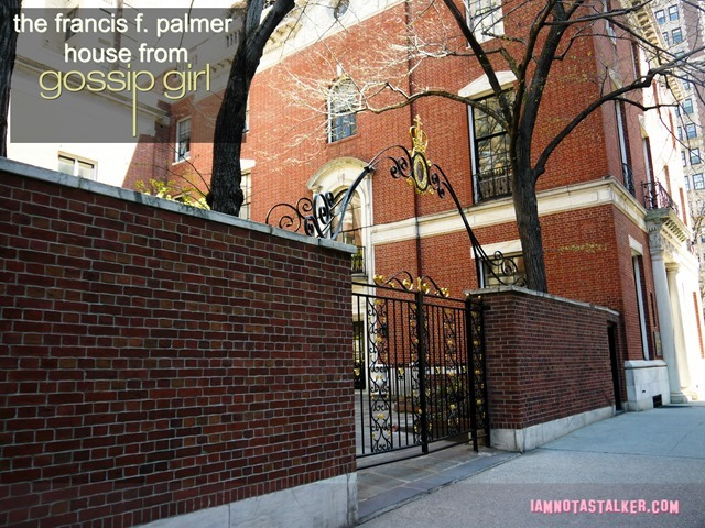 The Francis F. Palmer House from Gossip Girl-1140660