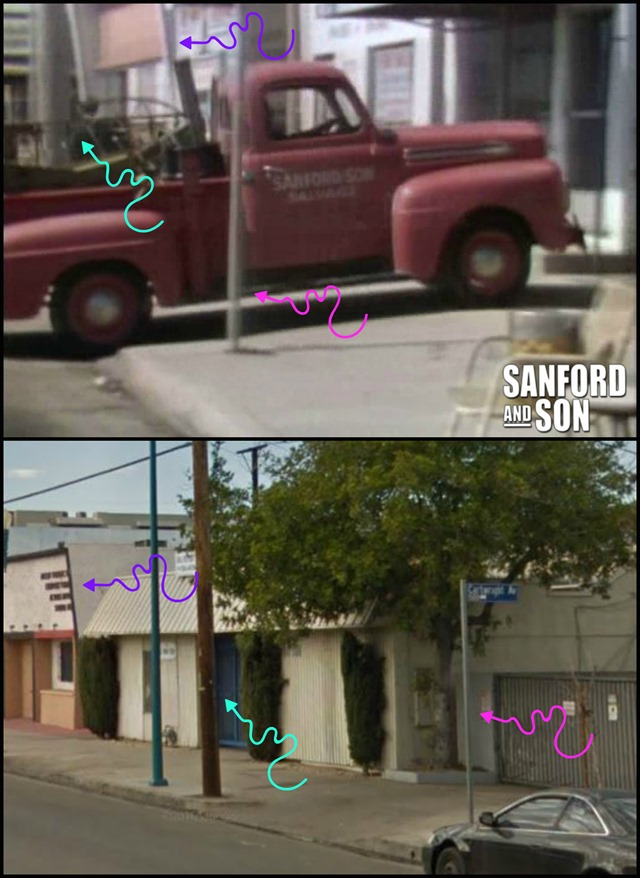 Sanford and Son Driveway