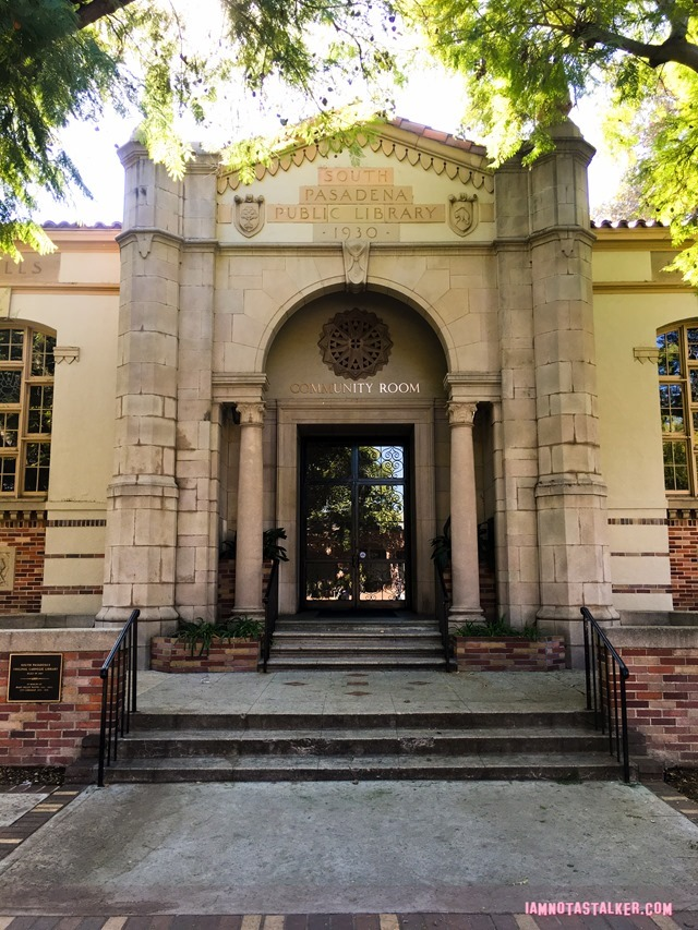 South Pasadena Public Library from Say Anything-6133