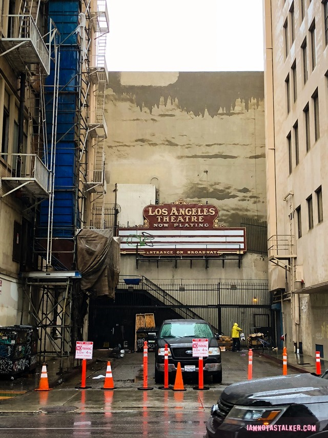 The Los Angeles Theatre Alley From Quot Coyote Ugly